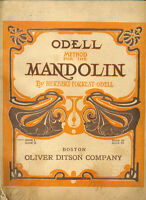 1906 book Method for the Mandolin Book 1 by Herbert Forest Odell