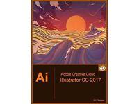 Adobe CC 2017 Illustrator for Windows / Macbook / Imac