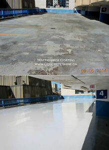 Concrete Shot Blasting, Traffic Deck Topping, Epoxy Coating Cornwall Ontario image 4