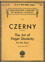 Czerny Op. 740 The Art of Finger Dexterity For The Piano V 154