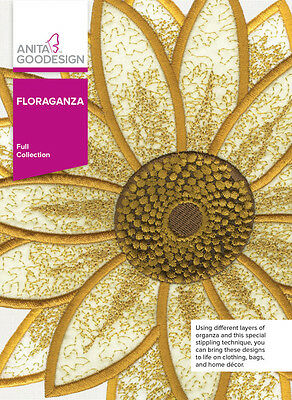 Anita Goodesign Embroidery Machine Design CD FLORAGANZA - NEW