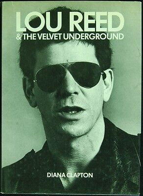 Rare LOU REED Autographed Book - Lou Reed & The Velvet Underground
