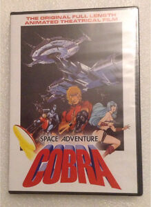 Space Adventure Cobra - anime dvd movie