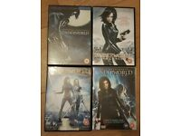 Complete Underworld Collection DVDs