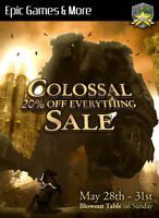 Colossal Video Game Sale!