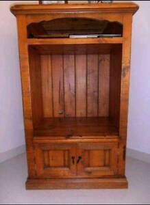 Solid wood entertainment unit Strathfield South Strathfield Area Preview