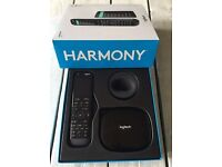 Boxed Logitech Harmony Elite including Hub and all Accessories