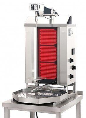 CE3 Ceran Glass Elektro POTIS Dönergrill Gyrosgrill Kebabgrill Dönermaschine
