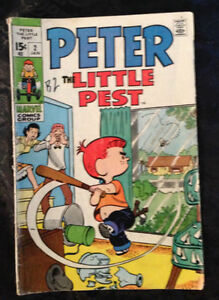Peter the Little Pes Comic Book