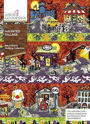 Anita Goodesign Embroidery Machine Design CD HAUNTED VILLAGE
