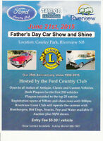Father's Day Car Show and Shine - Riverview NB