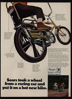 1969 SEARS SCREAMER Boy's Bicycle - Banana Seat - Candy