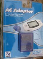 Gameboy Advance and gameboy colour AC power adapter and battery