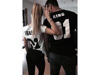 Couples tshirts
