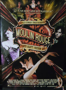 """""""Moulin Rouge"""" Promotional Poster NEW Condition"""
