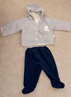 Boy's fall/spring clothing and shoes size 9-12-18m