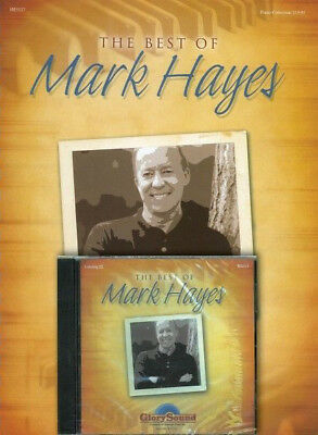 The Best of Mark Hayes Sheet Music Piano Book with Listening CD Book a 035022778