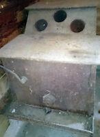 Antique wood burning furnace/heater