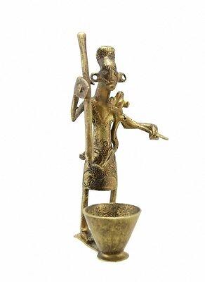 Statue Maternity Bronze Benin Art Africa Craft MT2-AF1103