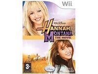 Nintendo Wii - Hannah Montana: the Movie Game