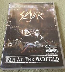 Slayer dvd's still reigning & war at the warfield - $5 each