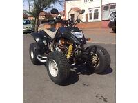 Road legal Quadzilla 250 quad bike