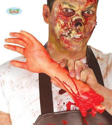 Braccio Mozzato CM 32 Decorazione Tavola Party Halloween Addobbo Horror Nuovo