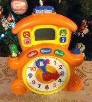 VTECH HORLOGE. REAL TIME. LEARNING TIME CUCKOO CLOCK