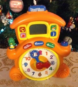 VTECH HORLOGE. REAL TIME. LEARNING TIME CUCKOO CLOCK Gatineau Ottawa / Gatineau Area image 1