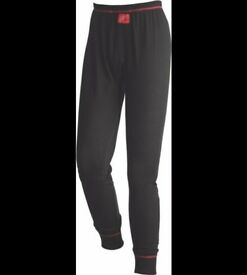Red Wing 69008 Flame Resistant & A/S Underwear Pants Thermal Leggins - Black/Red Size 3XL