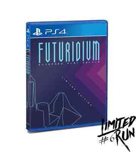 Futuridium EP Deluxe PS4 LIMITED RUN #6 new with factory seal Cambridge Kitchener Area image 3