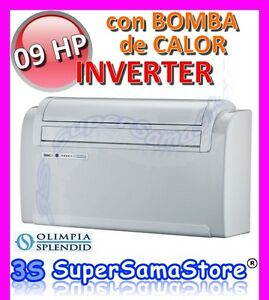 3s unico inverter 09 hp olimpia bomba de calor for Bomba de calor inverter