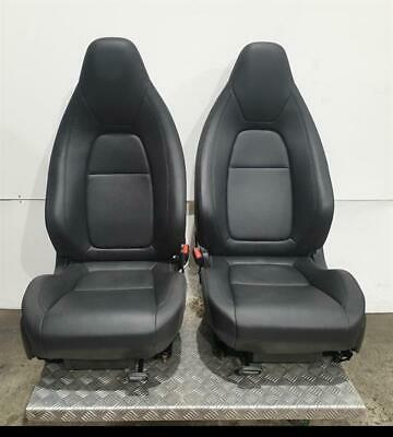 JAGUAR F-TYPE V6 S (X152) 2013 On - Black Leather Front Seats