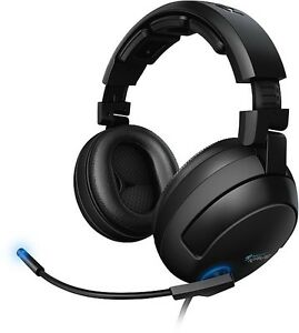 Roccat Kave Solid 5.1 Gaming Headset, echter Surround Vibration Ohrumschließend