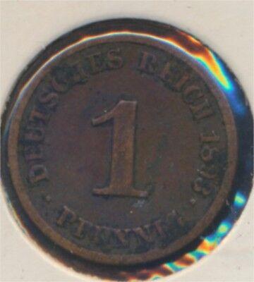 Deutsches Reich Jägernr: 10 1893 E Stgl./unzirkuliert 1893 1 Pfennig (7869033