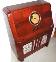 Radio antique Philco Restauré à neuf