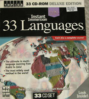 CD ROM Learn 33 Languages