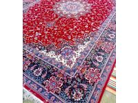 ~Luxury red intricate Persian Carpet~From Iran