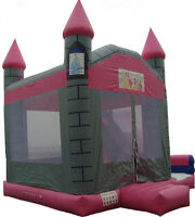 Pink Princess Castle for rent, Fun-Tastic Castles