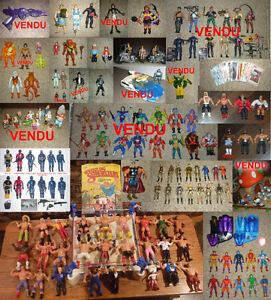 Lots de figurines vintage - 80's figures collection