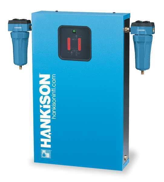 HANKISON DHW20-F Air Dryer,Desiccant,20.4 CFM,16.2 Flow