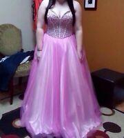Blush prom dress size 12