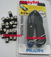 Zenith or Philips digital RG6 59 BNC compression tool