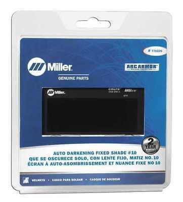 Miller Electric 770226 Welding Lens 2 X 4 In 10 Auto-darkening