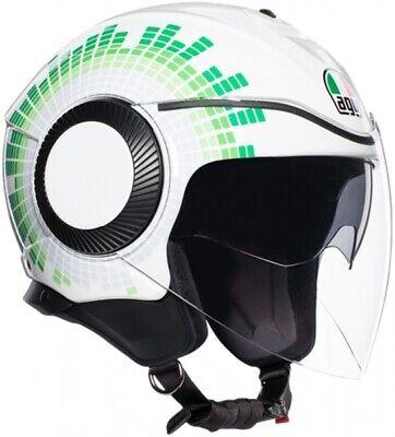 Casco Helmet Helm Capacete Jet Orbyt Ginza Coloración Italia TAMAÑO S