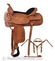 17' Western Draft/horse saddle