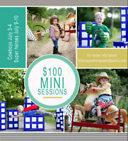 Super Hero & Cowboy Mini Sessions (by Father's Eye Photography)