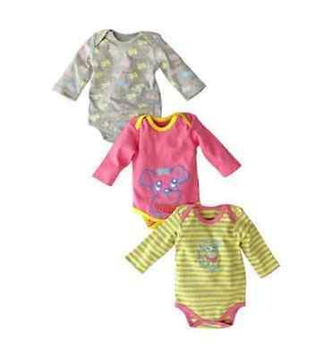 Gelati Mädchen Langarm Baby Body 50/56 74/80 86/92 NEU online kaufen