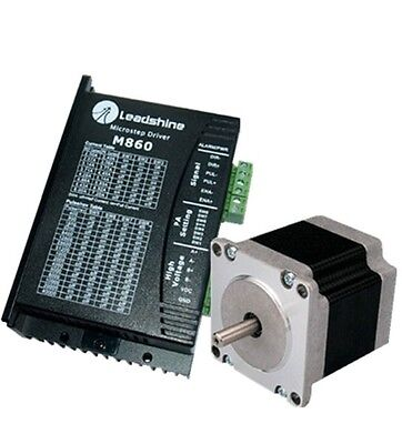 Leadshine Hybrid Nema34 4.5nm 3.0a 2 Phase Stepper Motor Drive Kit For Cnc New