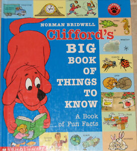 Clifford's BIG Book of things to know Hard Cover Book